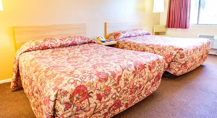 Several Spacious Two Beds in our La Mesa CA motel rooms