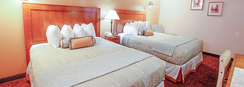 Two Queen Bed - Welcome to Heritage Inn La Mesa CA lodging